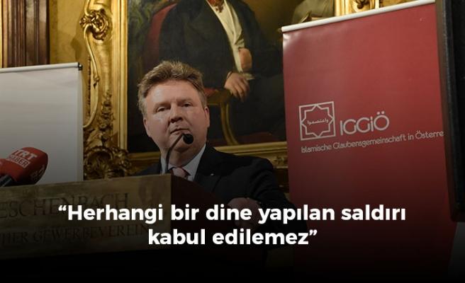 Viyana Belediye Başkanı Ludwig, iftar yemeğinde konuştu