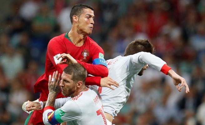 Ronaldo 3 - 3 İspanya