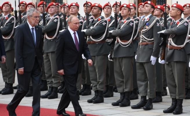 Rusya Devlet Başkanı Putin Avusturya'da