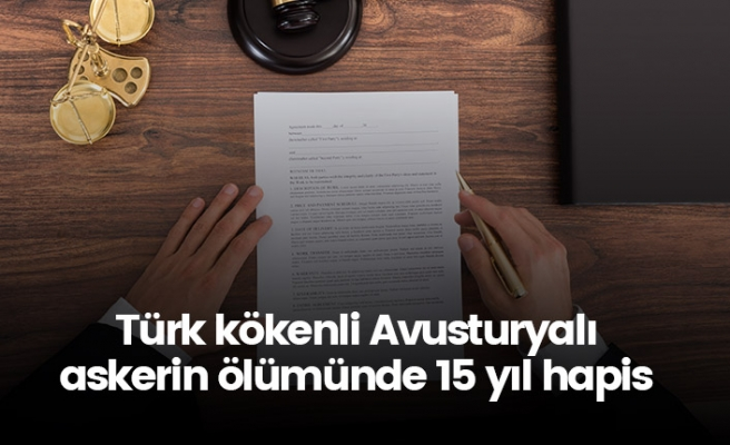Türk kökenli askerin ölümünde diğer Türk gencine 15 yıl hapis