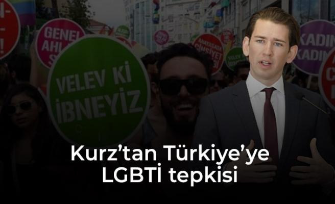 Kurz'tan LGBTİ gösterisine destek, Türkiye'ye eleştiri