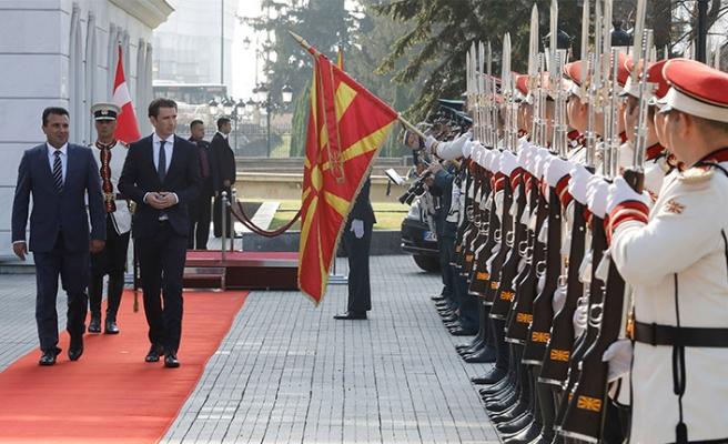 Kurz: 'Batı Balkan ülkelerinin yeri AB'dir'