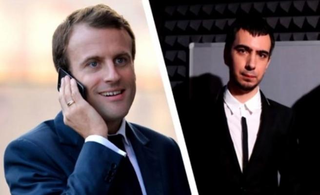 Macron'a telefon şakası: Zelenskiy gibi konuştular!