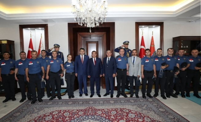 Sırbistan hudut kapılarında Türk polisine görev