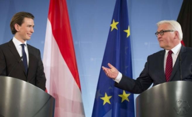 ''Almanya Dışişleri Bakanı Steinmeier, Sebastian Kurz ile görüştü''
