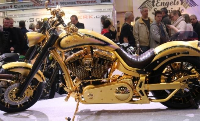 ''Altın ve elmastan motosiklet''