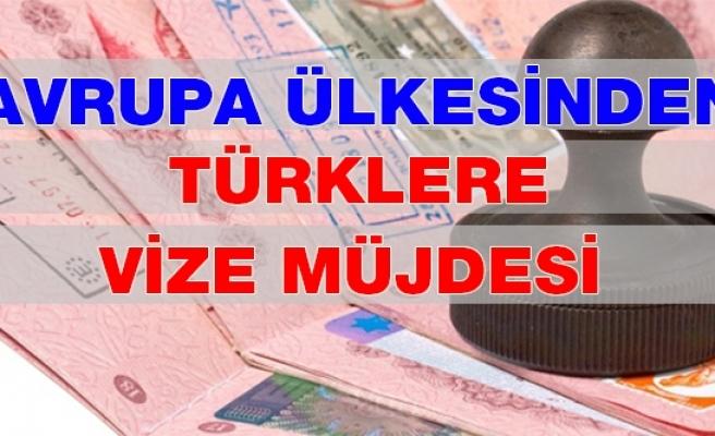 Avrupa Ülkesinden Türklere Vize Müjdesi