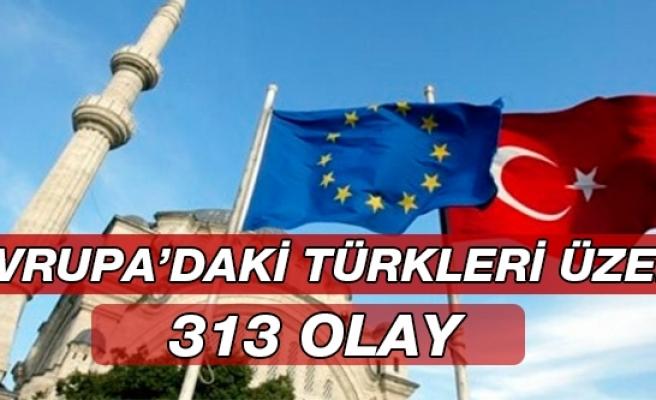 Avrupa'daki Türkleri Üzen 313 Olay