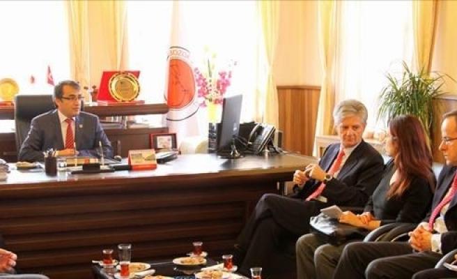 ''Avusturya Büyükelçisi, Erciyes'i Havadan da İnceledi''