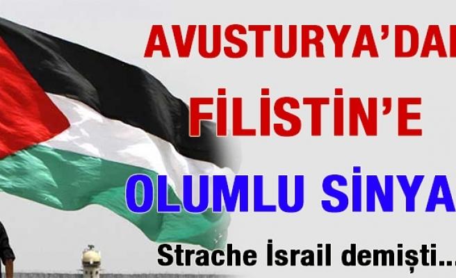 Avusturya'da Filistin'in orta vadede tanınabileceğinin sinyali