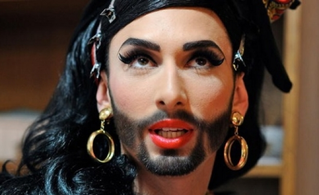 ''Avusturya'lı Şarkıcı Rusya'yı karıştırdı''