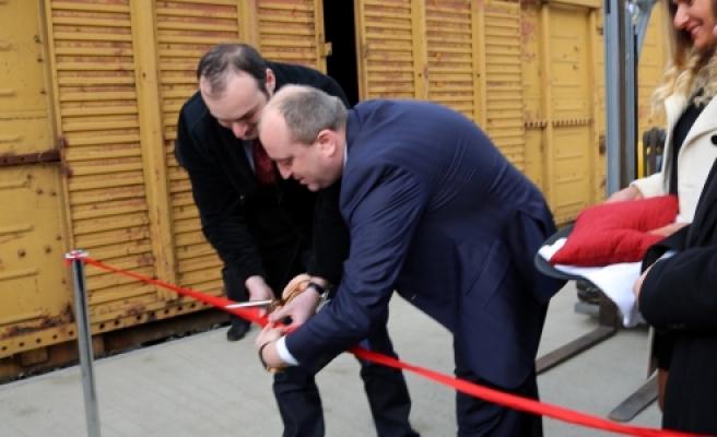 ''Batum-Kazakistan demiryolu hattı açıldı''