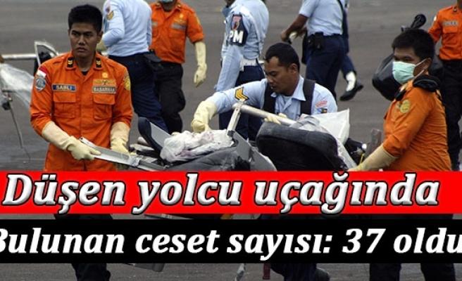 Düşen AirAsia uçağında bulunan ceset sayısı 37 oldu