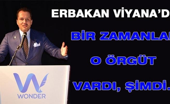 Fatih Erbakan, Viyana'da