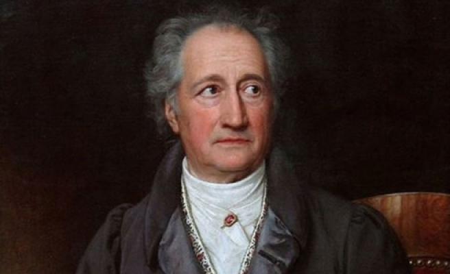 ''Goethe'nin Hz.Muhammed yazısı ve şiiri''
