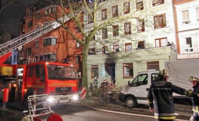 ''Hamburg'daki yangında kundaklama şüphesi''