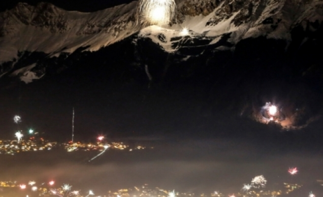 ''Innsbruck'ta Havai Fişak Gösterisi''