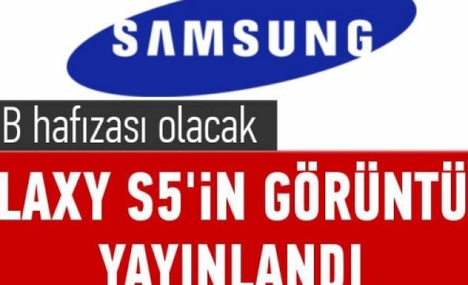 ''İşte Samsung Galaxy S5'in görüntüsü''