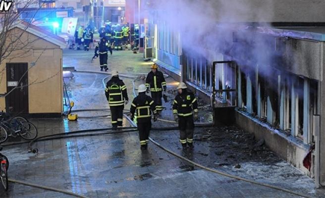 İsveç'te bir cami daha kundaklandı