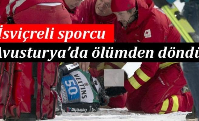 VİDEO: İsviçreli Kayakçı Avusturya'da Ölümden Böyle Döndü