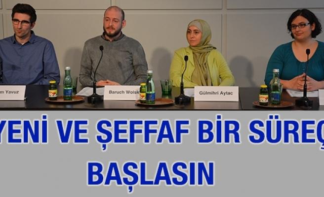 Müslüman Sivil Toplum Örgütü Girişimi: 'Yeni ve şeffaf bir süreç başlasın'