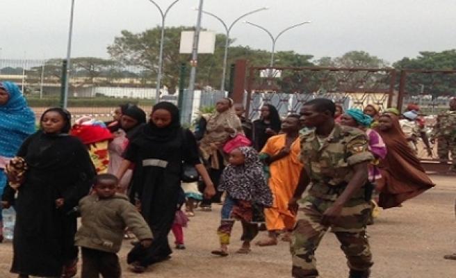 """""""Müslümanlar için Bangui'de hayat kabusa döndü"""""""