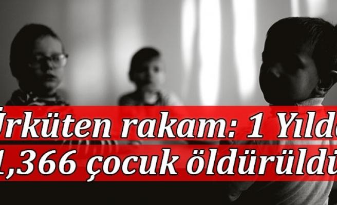 O ülkede ürküten rakam: Bir yılda 1366 çocuk öldürüldü, 7 bin kayıp