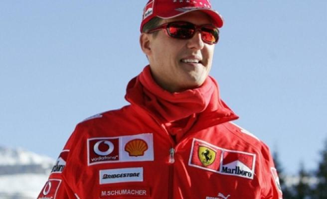 ''Schumacher zatürreye yakalandı ! Ama...''