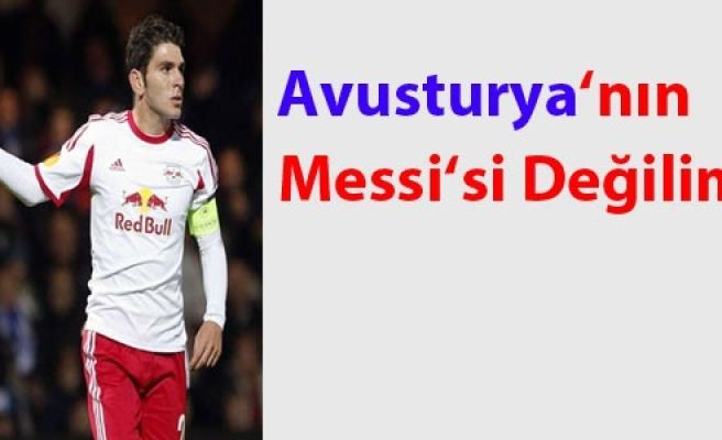 ''Soriano: Avusturya'nın Messi'si Değilim''