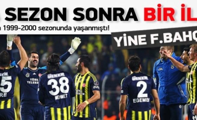 ''Süper Lig'de 14 sezon sonra bir ilk!''