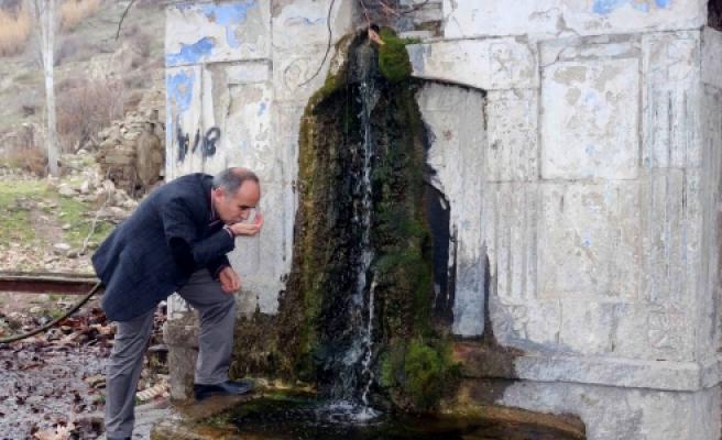 ''Tarihi çeşmenin suyu 260 yıldır hiç kesilmedi''