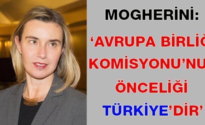 'Türkiye'nin AB'ye girme süreci, AB Komisyonu'nun önceliği olacaktır'
