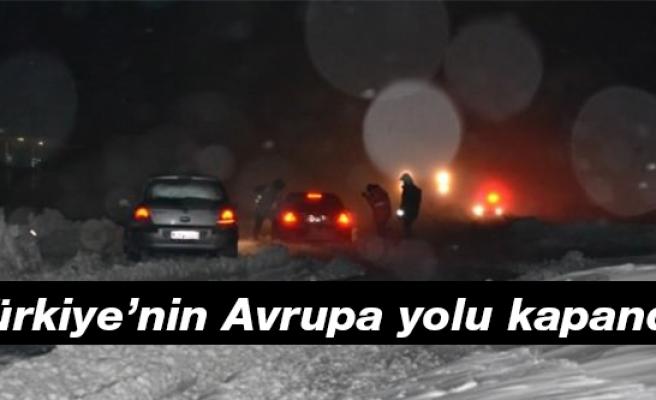Türkiye'nin Avrupa yolu kapandı
