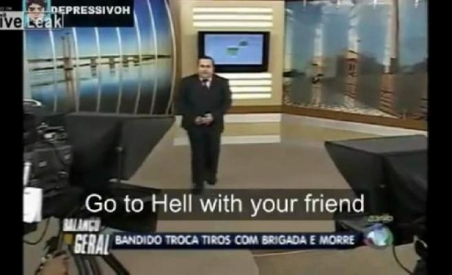 ''Tv Sunucusu: İnşallah Ölürsün''