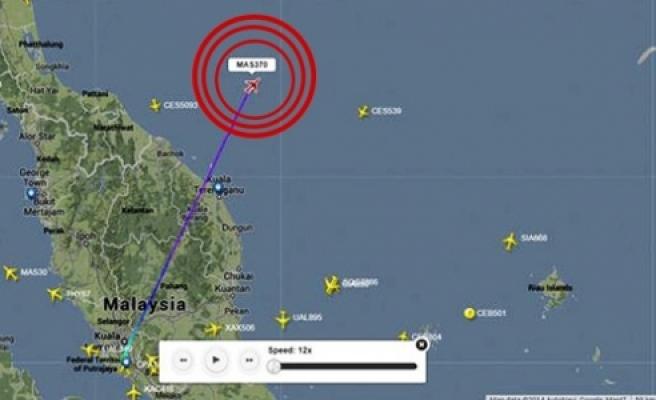 ''Uçak Çin'in tespit ettiği yerde de yok''