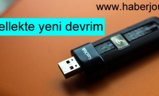 ''USB bellekte yeni devrim''