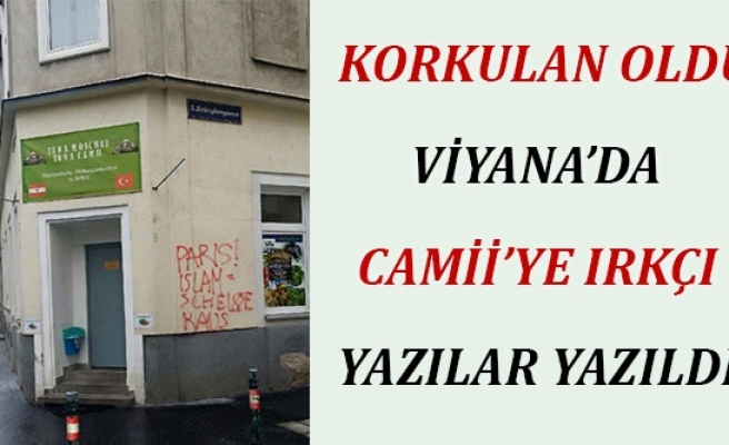 Viyana'da Camiye Irkçı Saldırı