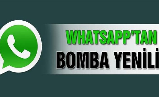 ''Whatsapp'a dev güncelleme geldi''