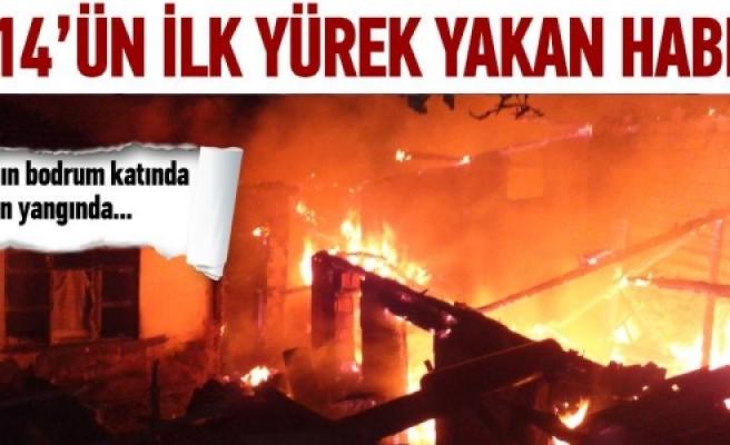Yeni yılda yangın faciası: 3 ölü