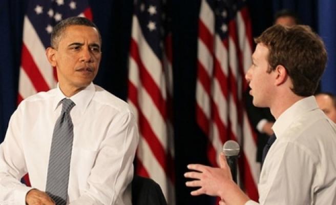 ''Zuckerberg'den Obama'ya 'internet' telefonu''