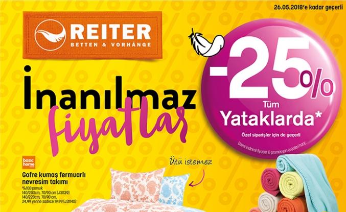 Reiter'de büyük kampanya başladı