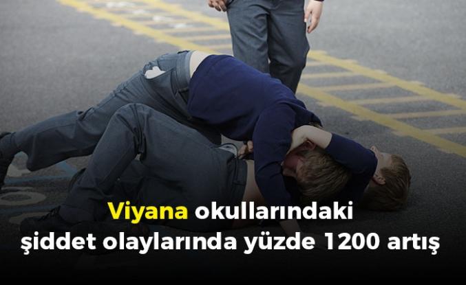 Viyana okullarındaki şiddet olaylarında ciddi artış