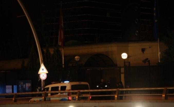 Avusturya'nın Ankara Büyükelçiliği önünde silah sesleri