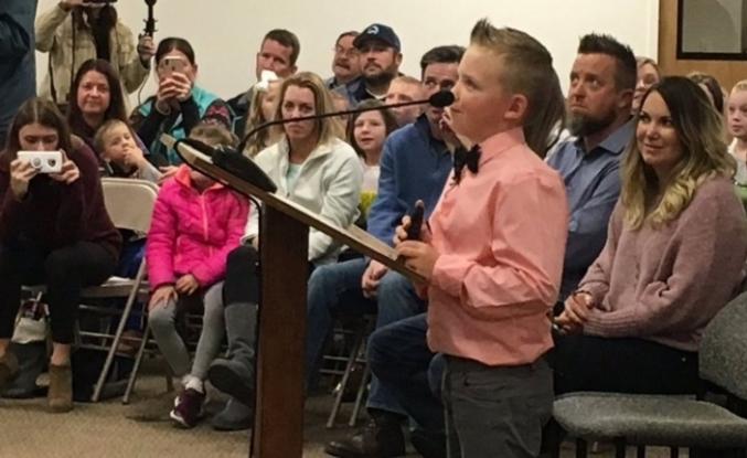 100 yıllık yasağı 9 yaşındaki çocuk kaldırttı!