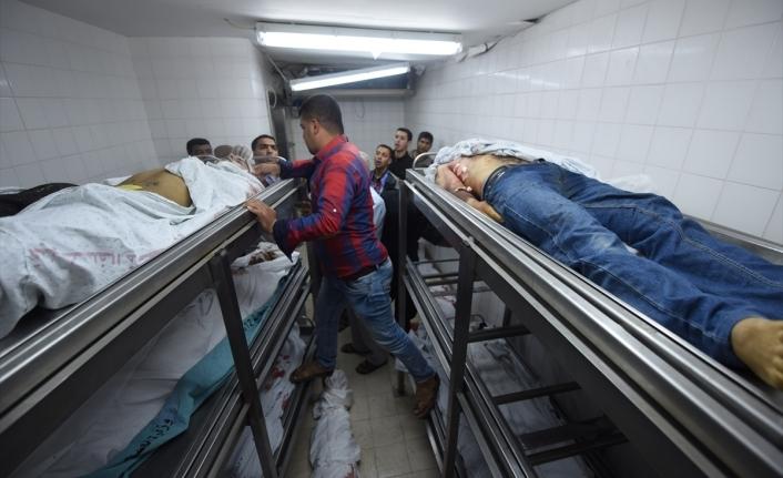 Gazze'de şehit edilen Filistinli sayısı 43'e yükseldi