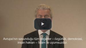 Aşırı sağcı Wilders, Türkçe alt yazılı video yayınladı