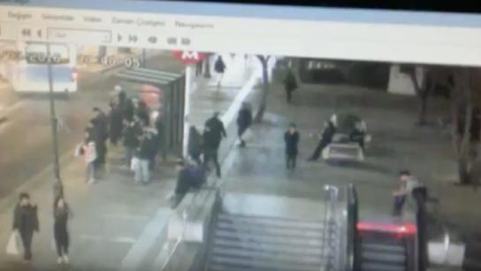 Ankara'daki patlama anının en net görüntüsü