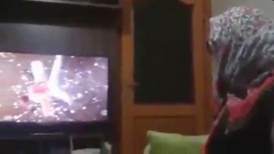 70 yaşındaki nine 3D film izlerse...
