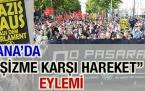 'Viyana'da ''Faşizme Karşı Hareket'' Eylemi'