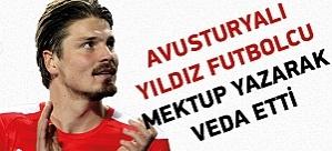 Beşiktaş'ın ilgilendiği Avusturyalı yıldız mektupla veda etti
